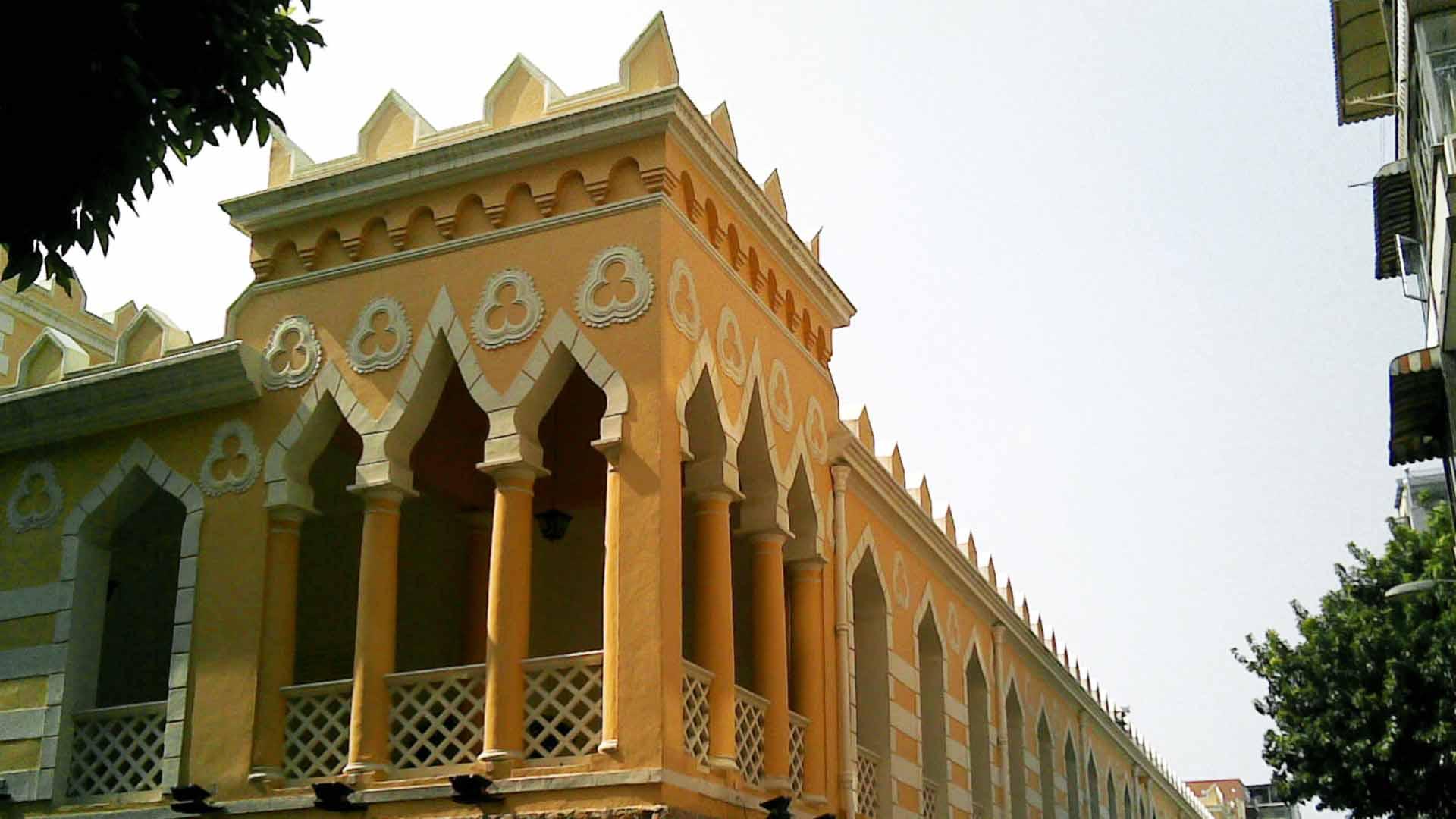 Renovation of the Moorish Barracks in Macau